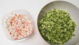 Салат с брокколи и крабовыми палочками. Пошаговый рецепт