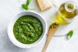 Рецепты салатов с соусом песто